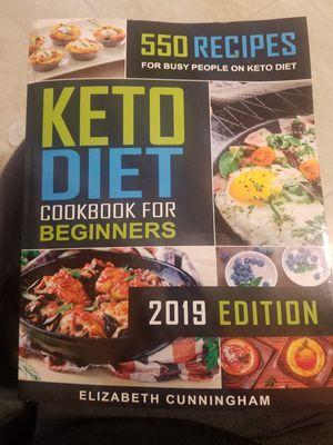 Keto Cookbook for Sale in Palos Hills, IL