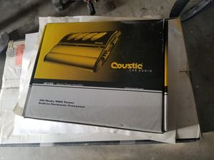 Coustic Car Audio Amplifier for Sale in Los Angeles, CA