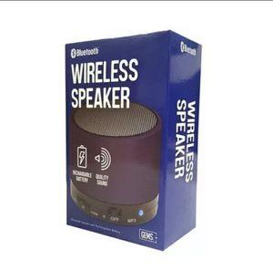 GEMS - Bluetooth Wireless Speaker (Navy) [Brand New] for Sale in Manassas, VA