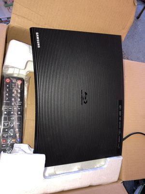 Samsung Blu-ray DVD Disc Player With Built-in Wi-Fi 1080p & Full HD Upconversion, Plays Blu-ray Discs, DVDs & CDs for Sale in Los Angeles, CA