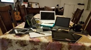 Ipad, hp chromebookcamera, montblanc pen etc. for Sale in Chantilly, VA
