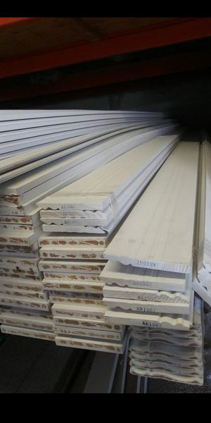 Baseboards crown molding door casings for Sale in Hollywood, FL