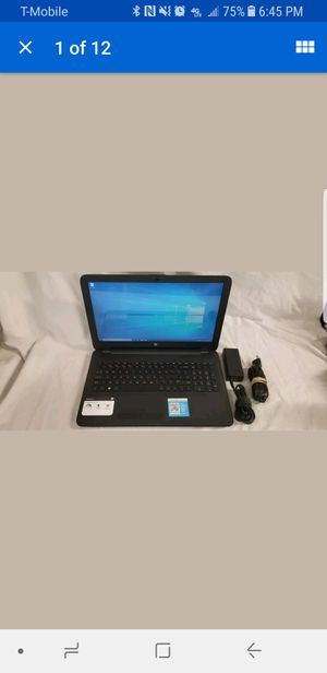HP LAPTOP EXCELLENT CONDTION for Sale in Auburn, WA