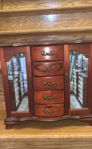 Wooden Jewelry Box for Sale in Troy, MI