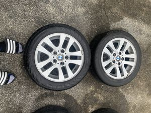 4 Bmw tires/rims for Sale in Everett, WA
