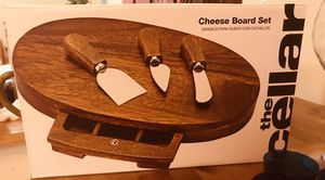 Brand new never opened Cheese Board Set paid $80 for it, wine glasses, wine carafe, beer mugs & more! for Sale in Springfield, VA