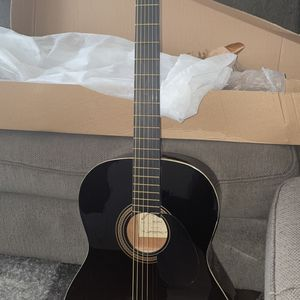 Johnson JG-100 Acoustic Guitar Black for Sale in Pflugerville, TX