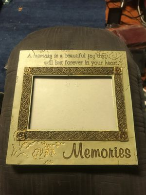 Memories 4x6 picture frame for Sale in Sunnyvale, CA