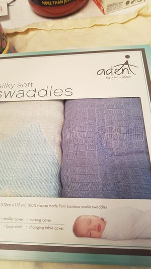 Silky soft swaddles for Sale in Henderson, NV