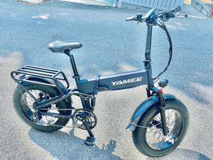 Yamee Ebike Fat Bear Plus 750w 48v 14.5 Folding bike with full suspensions for Sale in HASTINGS HDSN, NY