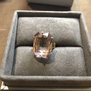 Vintage 18 Carat Amethyst Ring in 14 K Gold - One Of A Kind for Sale in Ashburn, VA