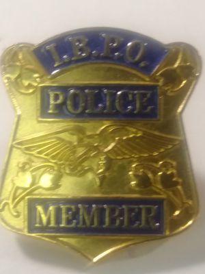 IBPO POLICE MEMBER LAPEL PIN for Sale in Waterbury, CT
