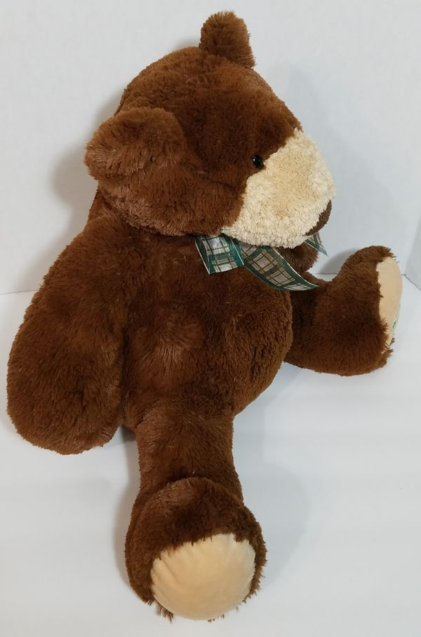 "Tempur-Pedic Mery Meyer Plush Teddy Bear Brown 18"" Tall Memory Foam Tempurpedic"
