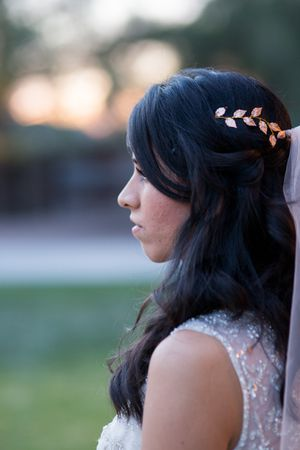 Wedding headband Hair peice Gold Leaf for Sale in Tempe, AZ