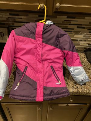 Girls snow jacket and gloves for Sale in Chandler, AZ