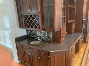 Kitchen cabinets and top for Sale in Marengo, IL