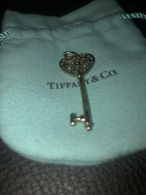 Tiffany key, heart shaped. for Sale in Irvine, CA