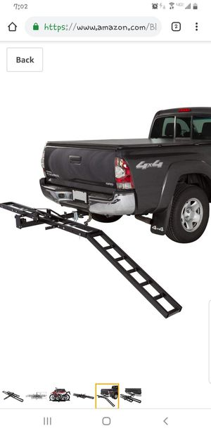 Motorcycle hitch carrier for Sale in CANAL WNCHSTR, OH