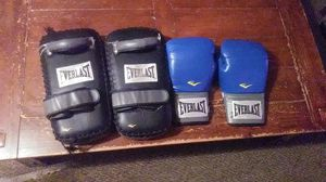 MMA pads and Boxing gloves for Sale in Port Neches, TX