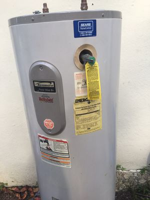 Kenmore Water heater working perfectly for Sale in Miami, FL