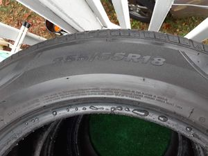 3 Tires 255/55/18 all tires for $75 dollars for Sale in Orange, CT