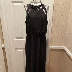 Xhilaration (Target) black maxi dress; size large for Sale in San Bernardino, CA