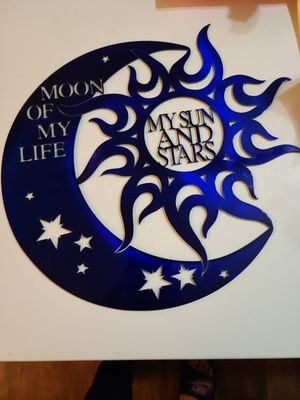Moon of My Life, My Sun and Stars Medal Decor for Sale in Laveen Village, AZ