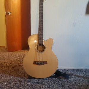 Ibanez acoustic-electric bass guitar for Sale in Berkeley, CA