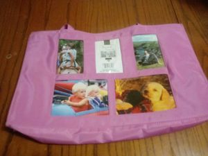 """Pink """"add a pic"""" tote bag for Sale in Cleveland, OH"""