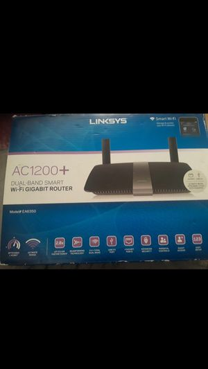 Linksys wifi router for Sale in Tempe, AZ