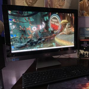 """24"""" FAST ASUS TOUCHSCREEN ALL-IN-ONE DESKTOP with wireless mouse/keyboard for Sale in Las Vegas, NV"""