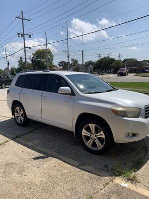 08 Toyota Highlander for Sale in Jefferson, LA