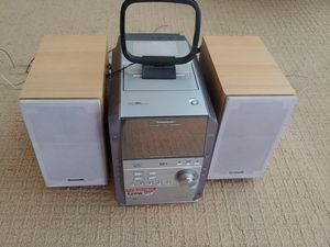 Panasonic CD Stereo System for Sale in Fontana, CA