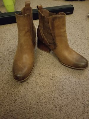 Beautiful leather ankle boots for Sale in Westminster, CA