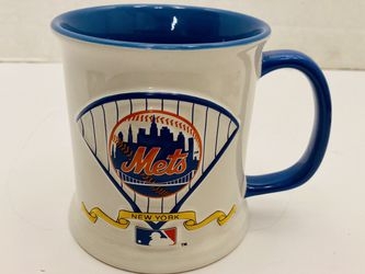 New York Mets Baseball 16oz 3D Embossed Logo Stoneware Ceramic Coffee / Tea Mug for Sale in Spring Hill,  FL