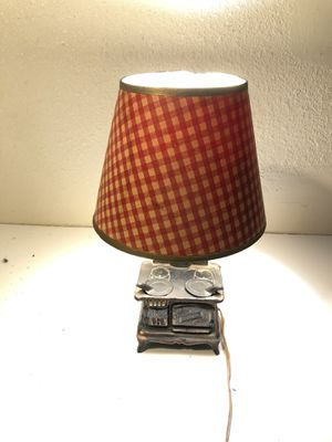 Vintage Acme Cast Iron Stove Lamp for Sale in Fresno, CA
