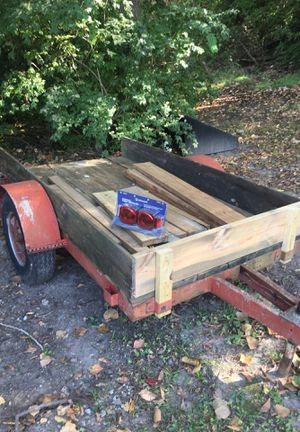 Heavy duty trailer 8 x 4 1/2 for Sale in Saint Charles, MO