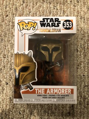 Funko Pop Vinyl - Star Wars: The Mandalorian - The Armorer for Sale in Fairfax, VA