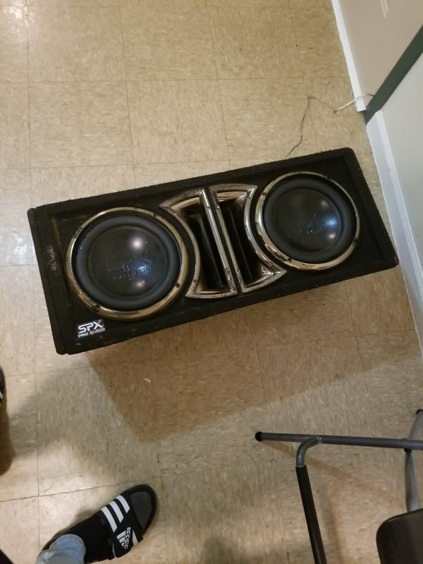 """Subs 10""""inch spx pro audio"""