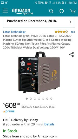 Lotos 3 and 1 welder for Sale in Austin, TX