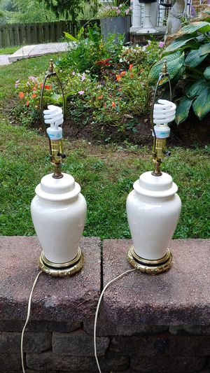Both working lamps for Sale in McLean, VA