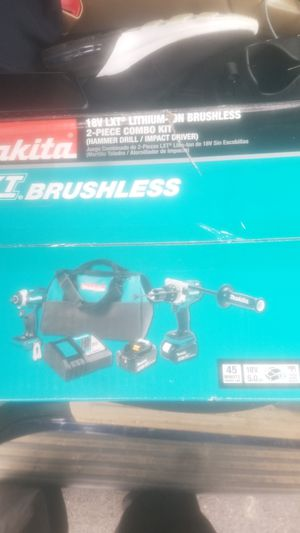 Makita 18volt Lxt Lithium ion Brushless 2 piece combo kit for Sale in Adelphi, MD