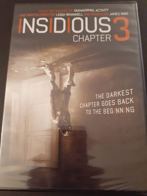 INSIDIOUS Chapter 3 (DVD) NEW! for Sale in Lewisville, TX