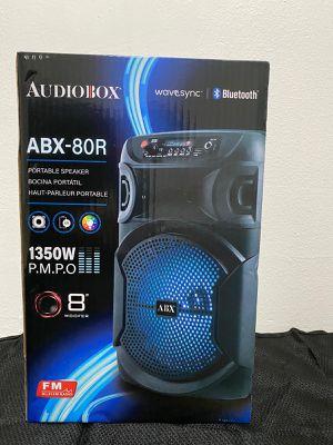 AudioBox 1350 Watts Portable Bluetooth Speaker for Sale in Anaheim, CA
