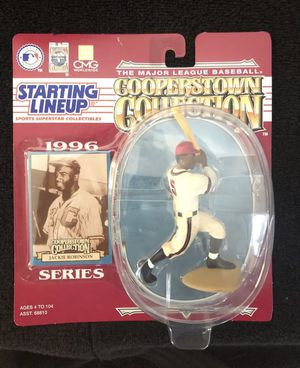 Jackie Robinson Action Figure 1996 Starting Lineup Cooperstown Collectible for Sale in Long Beach, CA