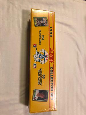 Score 1990 Baseball Collector Set 704/56 sealed for Sale in Manassas, VA