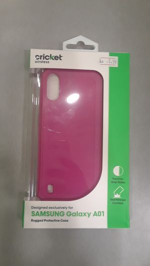 Cricket brand Phone Case Samsung A01 for Sale in Oklahoma City, OK