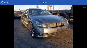 2012 infiniti g37 parting out part out for Sale in Riverside, CA