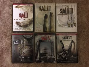 SAW. DVDs Collection for Sale in Harrisonburg, VA