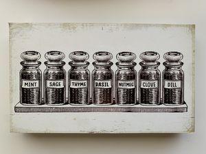 """Spices Kitchen Decor - 12""""x7"""" for Sale in La Mesa, CA"""